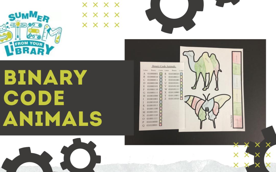 Summer STEM: Binary Code Animals