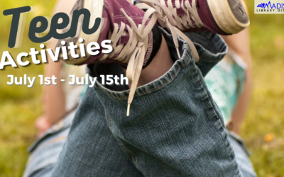 July 1st – July 15th TEEN Activities