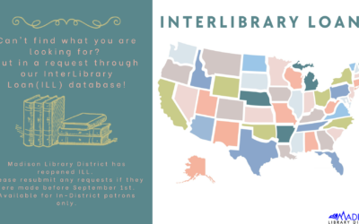 InterLibrary Loans is now Reopened