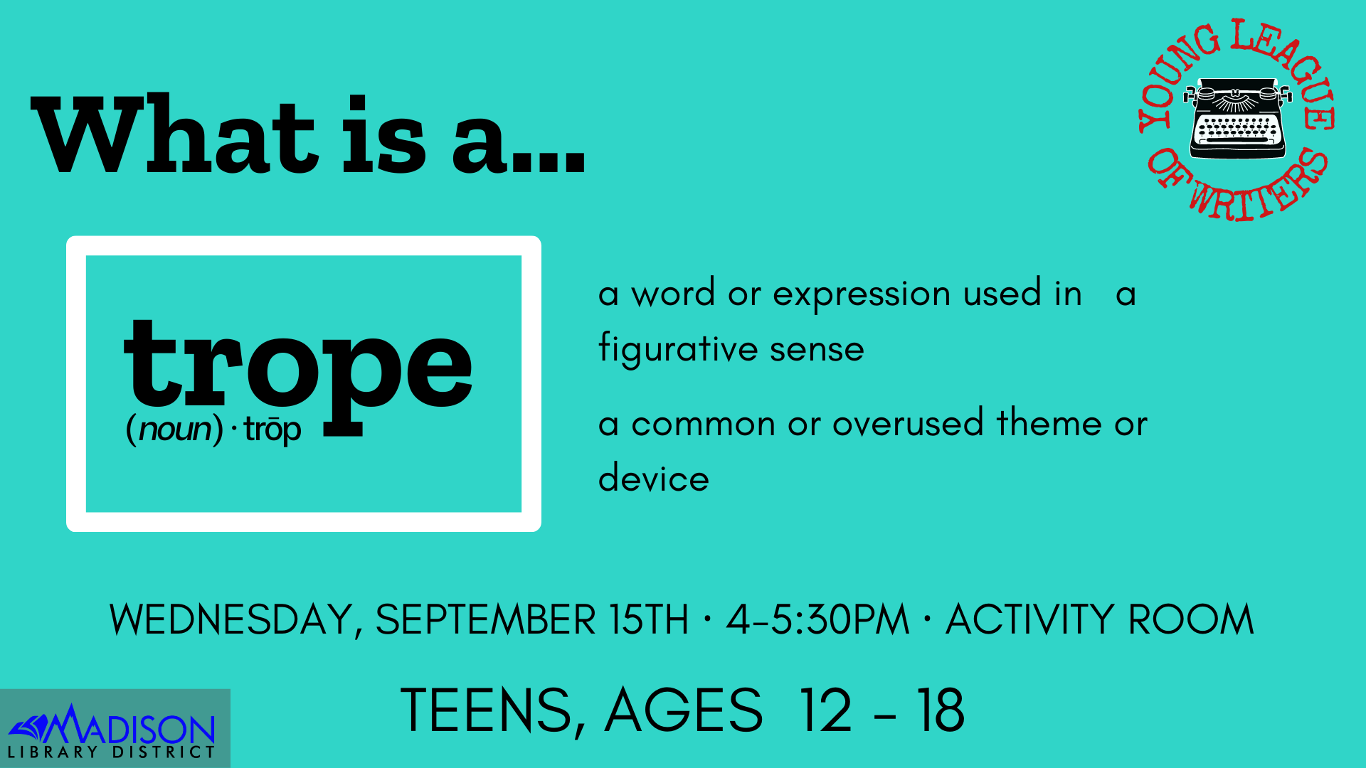 Teen action council have a say in what goes on at the library for teens