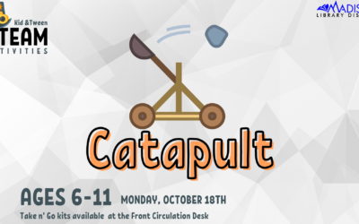 Kid + Tween STEAM: Catapult!